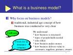 what is a business model6