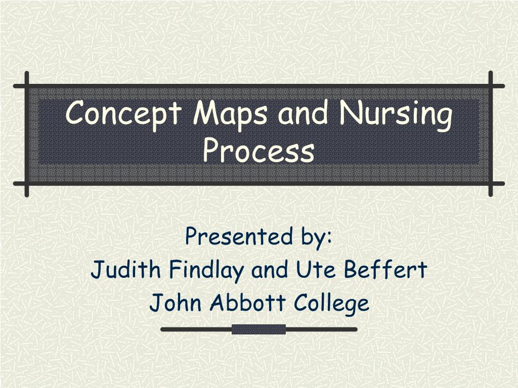 ppt concept maps and nursing process powerpoint presentation id