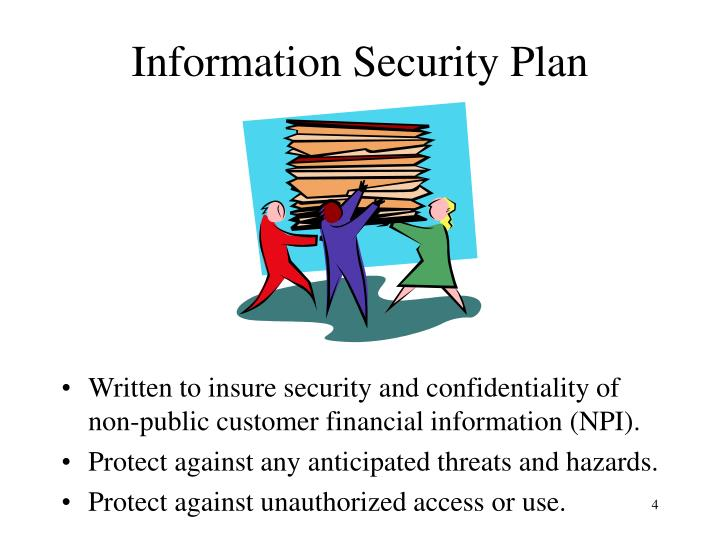 Information Security Plan