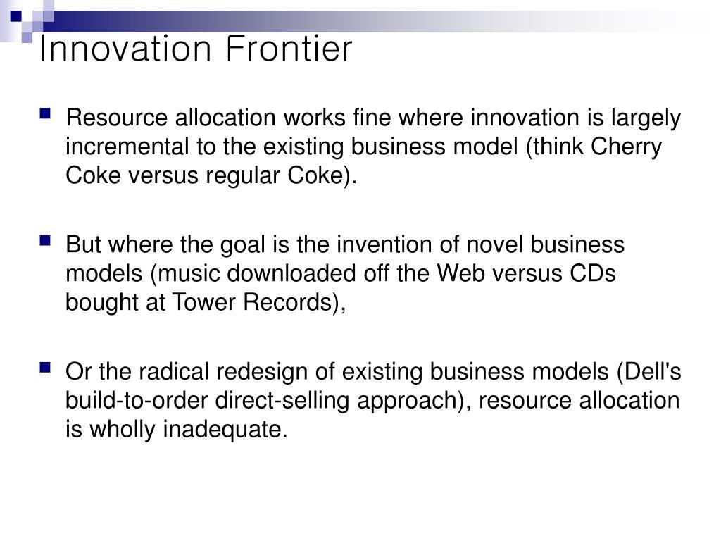 Innovation Frontier