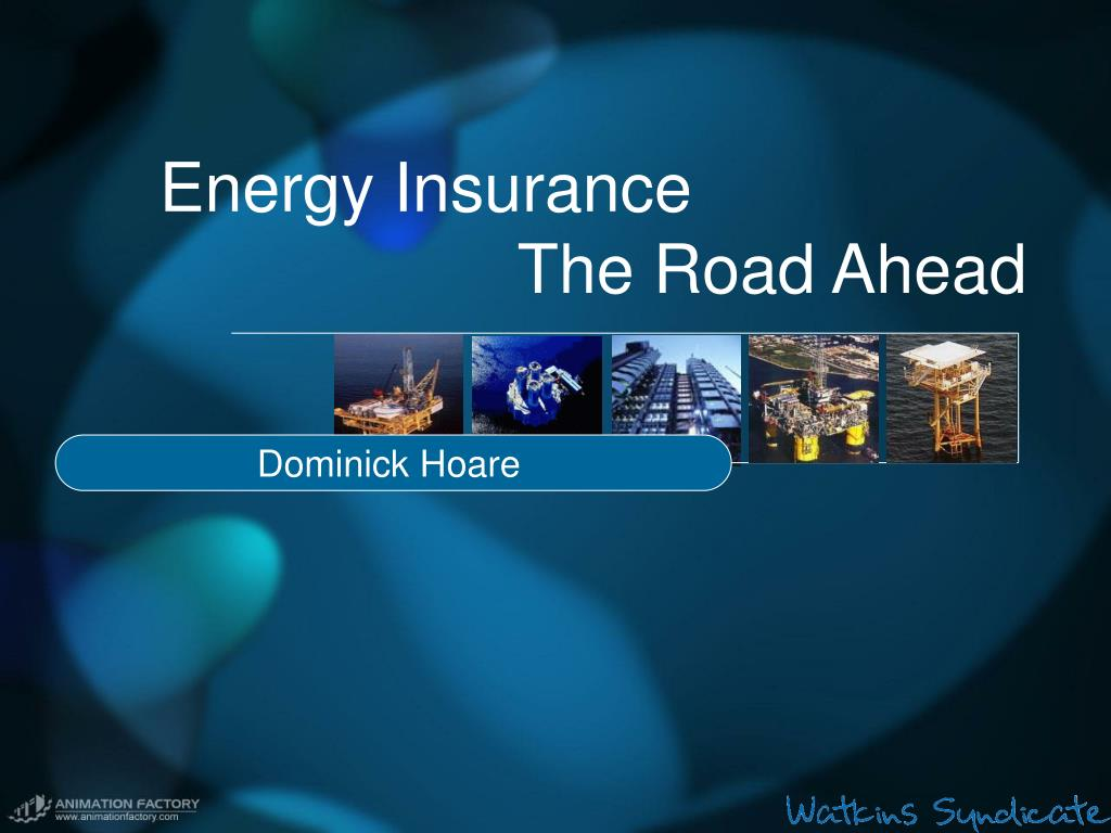energy insurance the road ahead l.