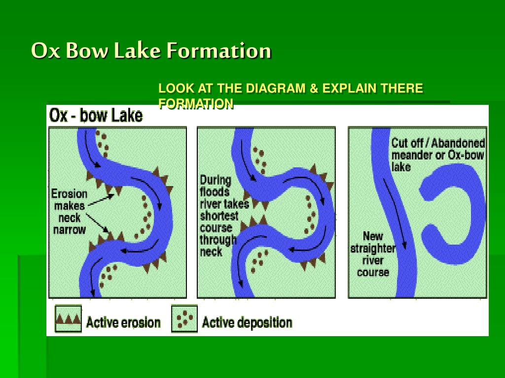 Ox Bow Lake Formation