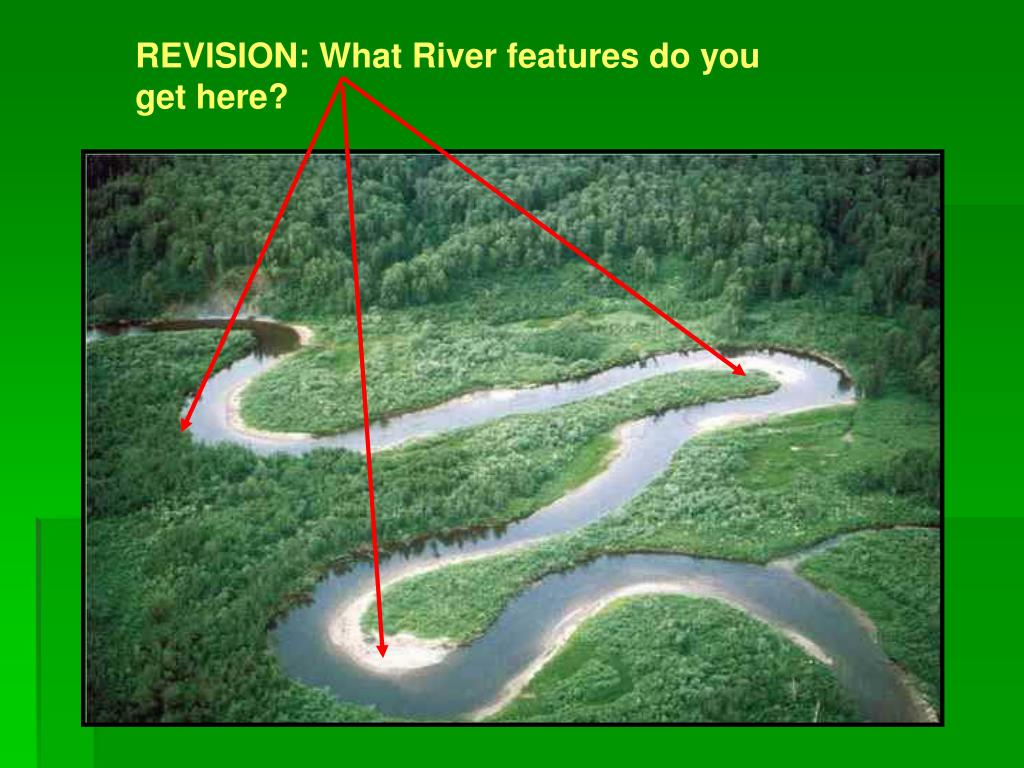 REVISION: What River features do you get here?