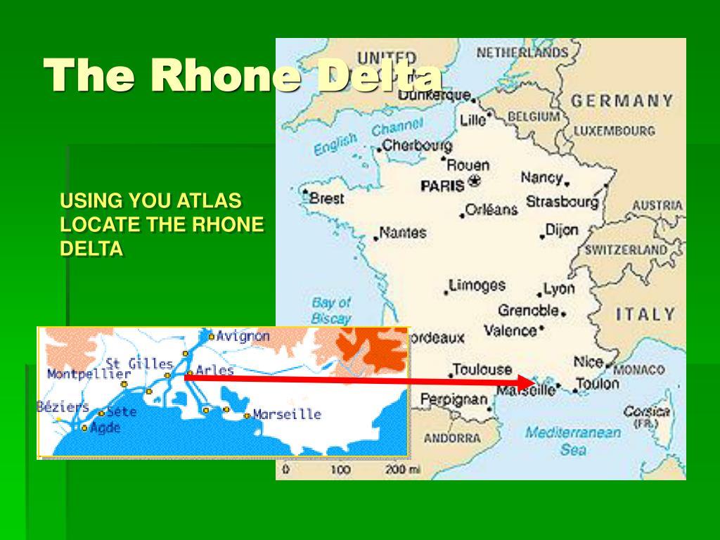 The Rhone Delta