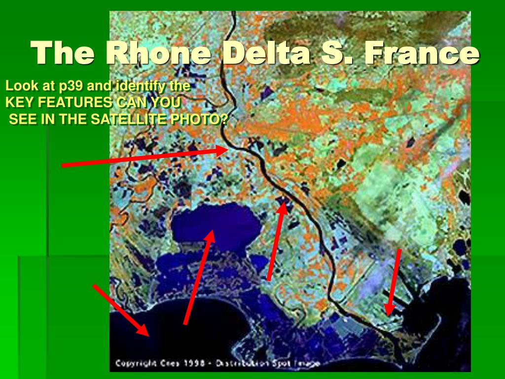 The Rhone Delta S. France