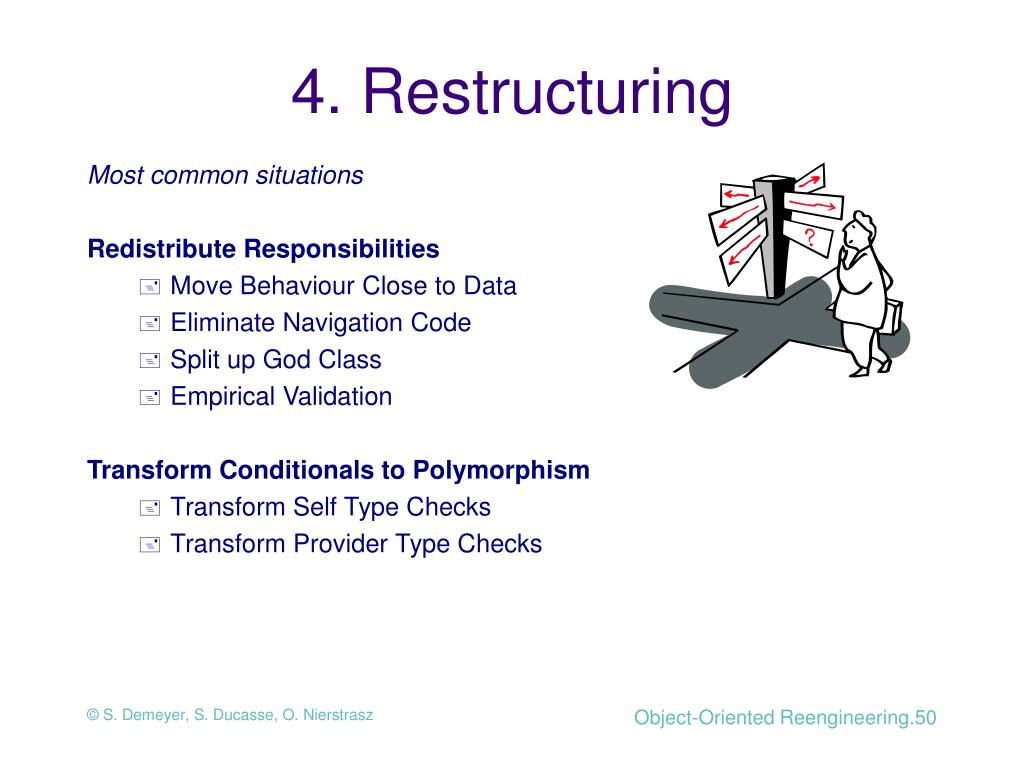 4. Restructuring