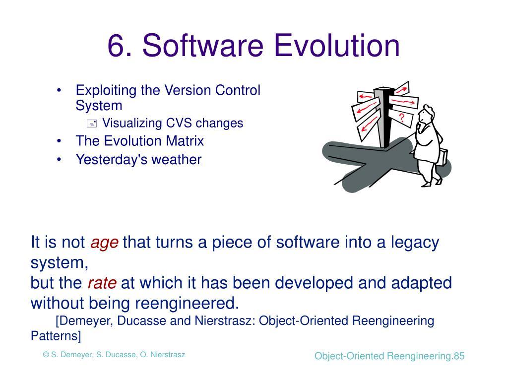 6. Software Evolution