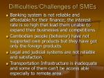 difficulties challenges of smes12