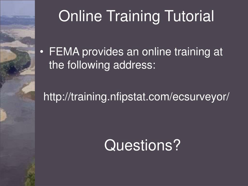 Online Training Tutorial