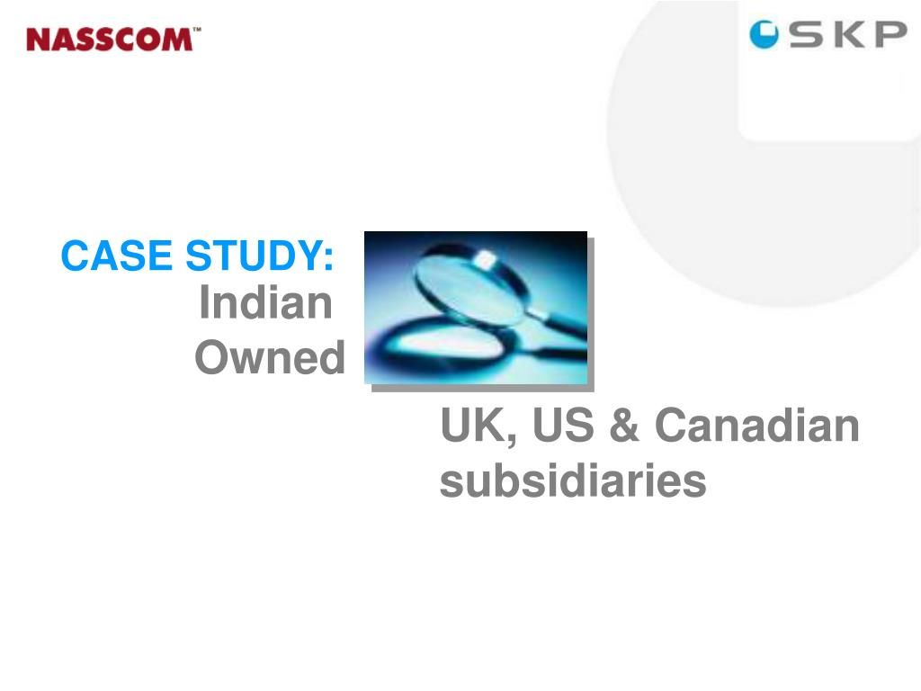 UK, US & Canadian  subsidiaries