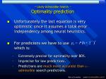 likely admissible search optimality prediction