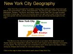 new york city geography