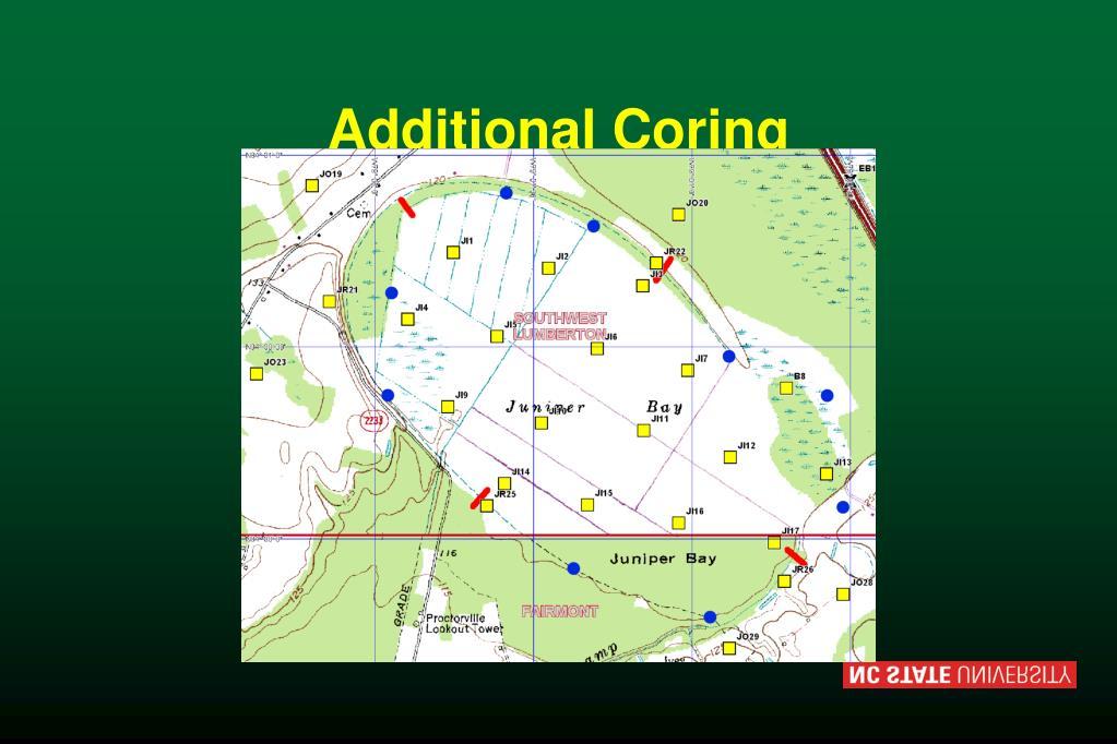 Additional Coring