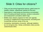 slide 3 cities for citizens