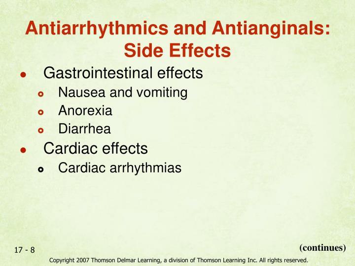 Gastrointestinal effects