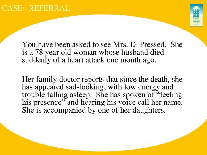 Case referral