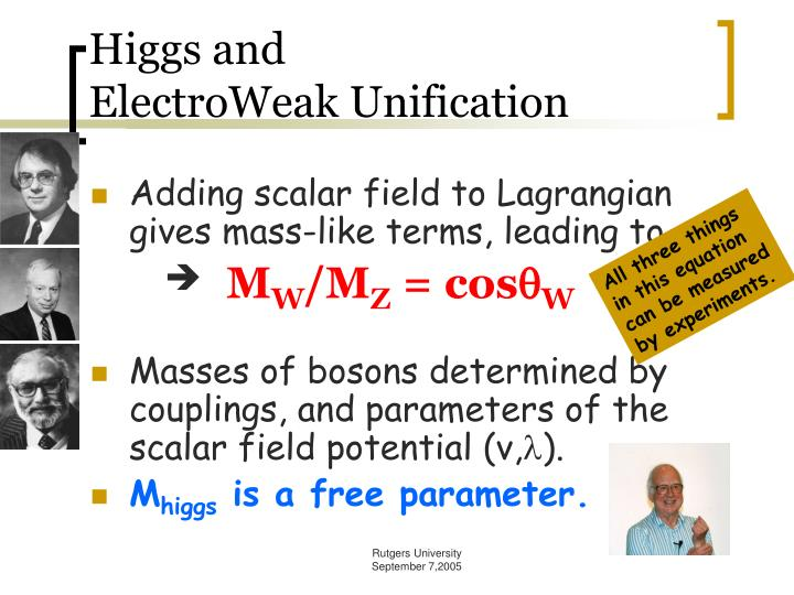 Higgs and
