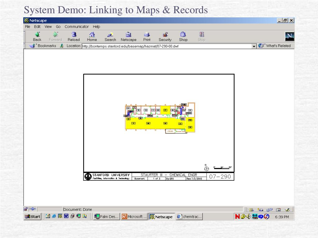 System Demo: Linking to Maps & Records
