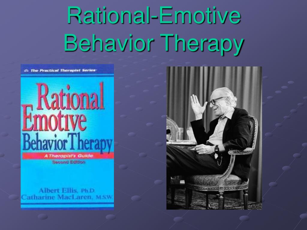 Rational-Emotive Behavior Therapy