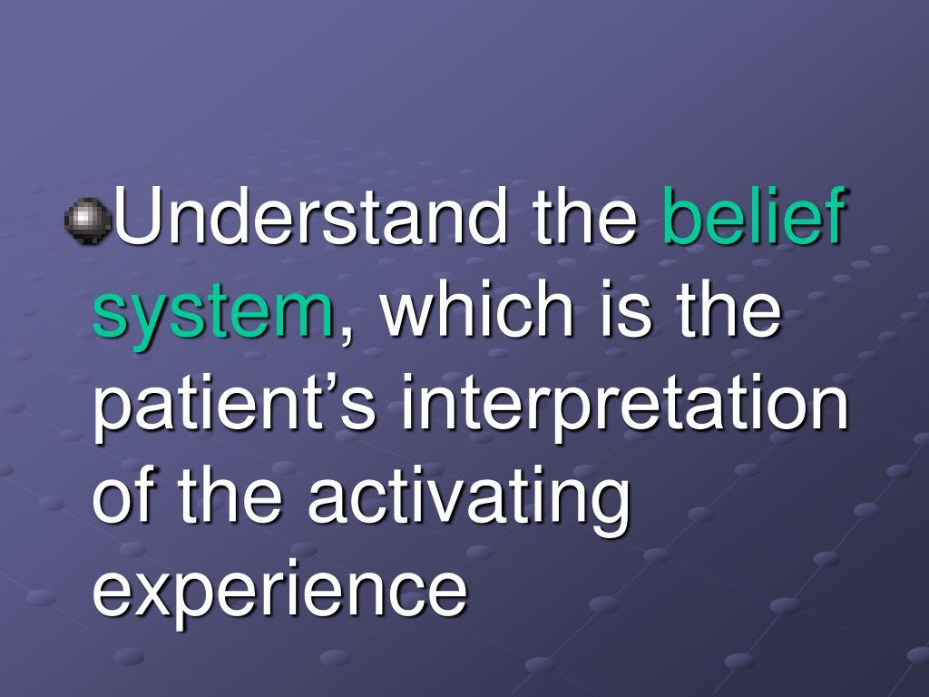 Understand the