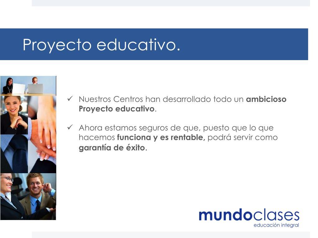 Proyecto educativo.