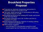 brookfield properties proposal