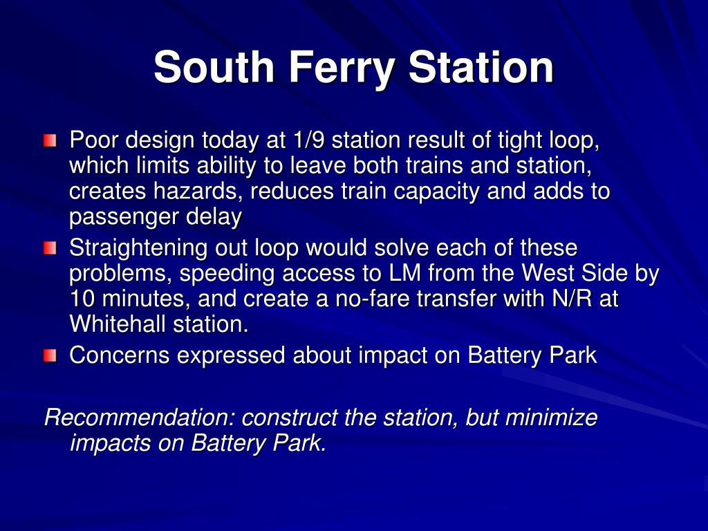 South Ferry Station