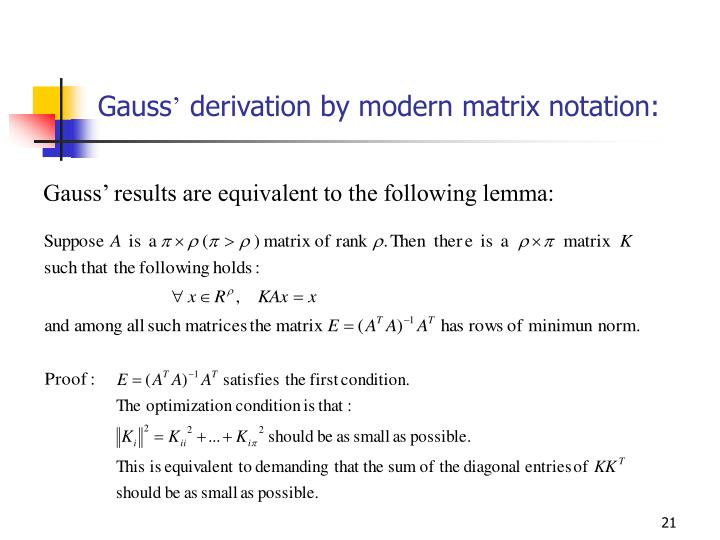 Gauss