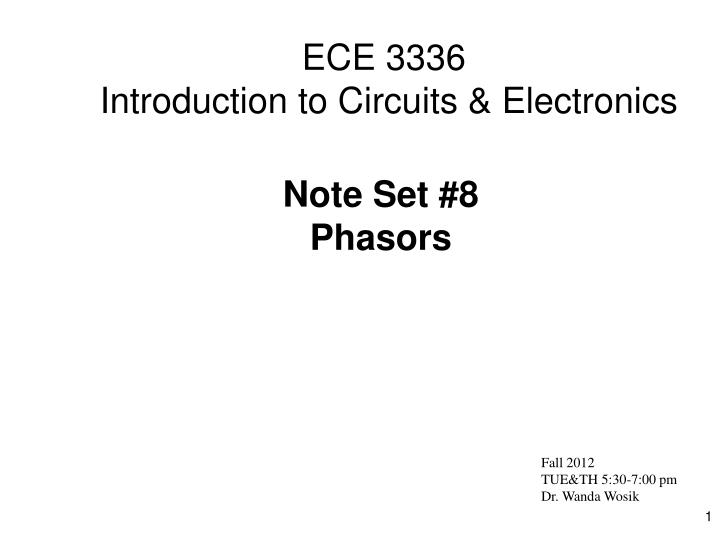 ece 3336 introduction to circuits electronics