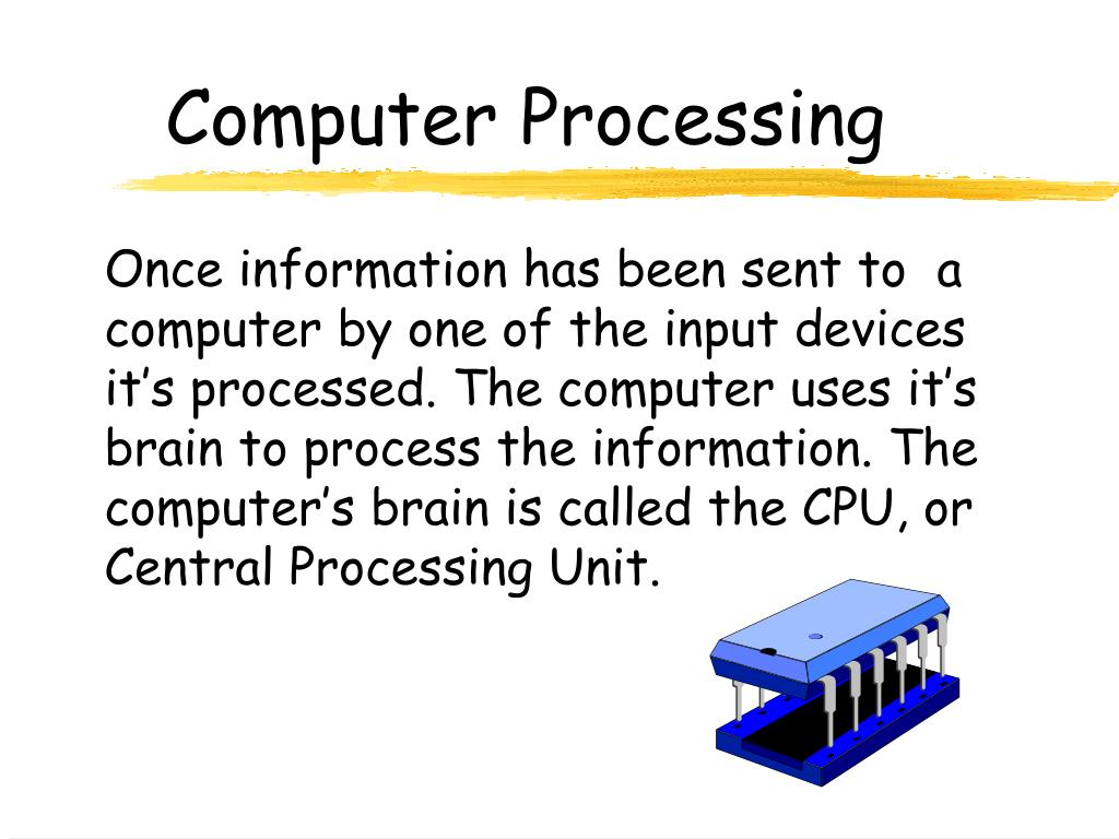 Computer Processing