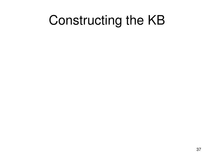 Constructing the KB