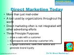 direct marketing today