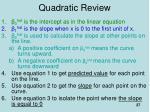 quadratic review2