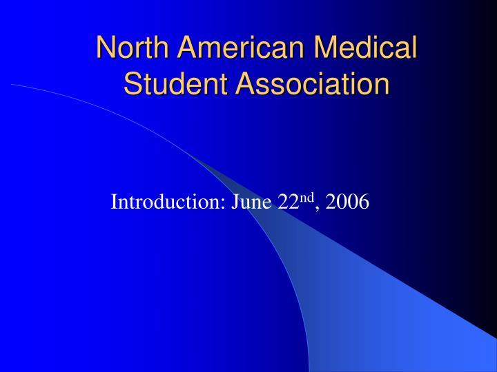 north american medical student association n.