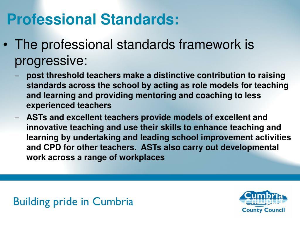 Professional Standards: