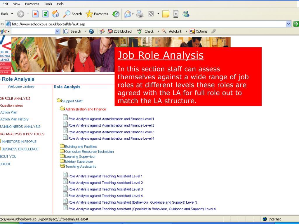 Job Role Analysis