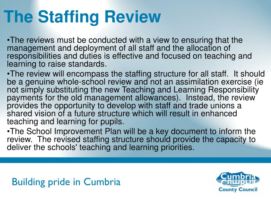 The Staffing Review