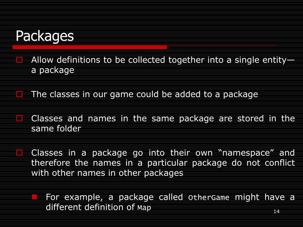 Packages