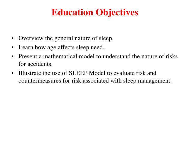 Education Objectives