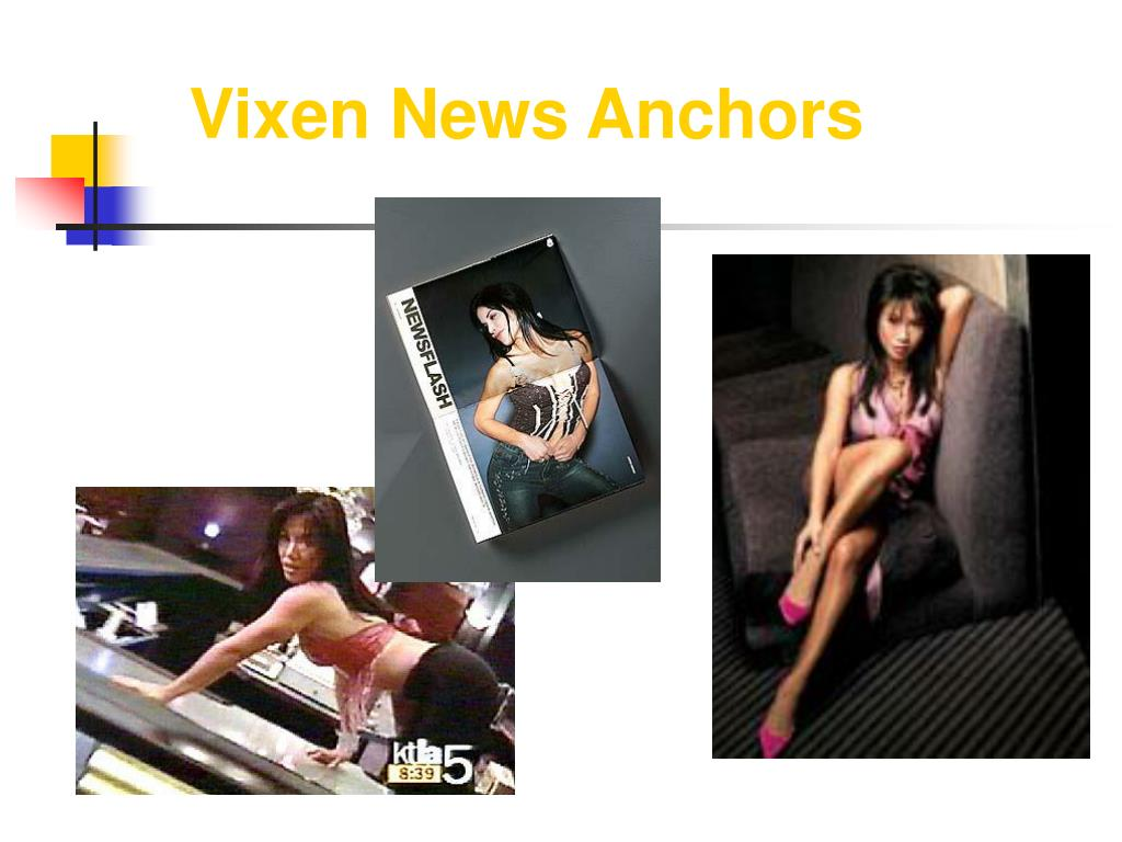 Vixen News Anchors