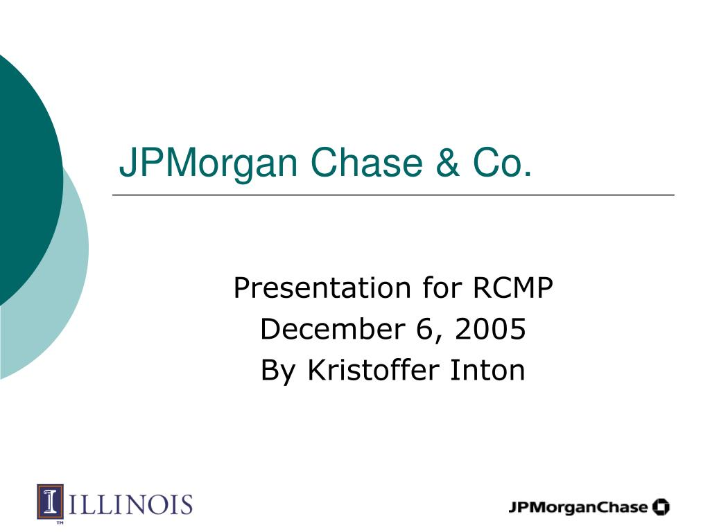 jpmorgan chase co l.