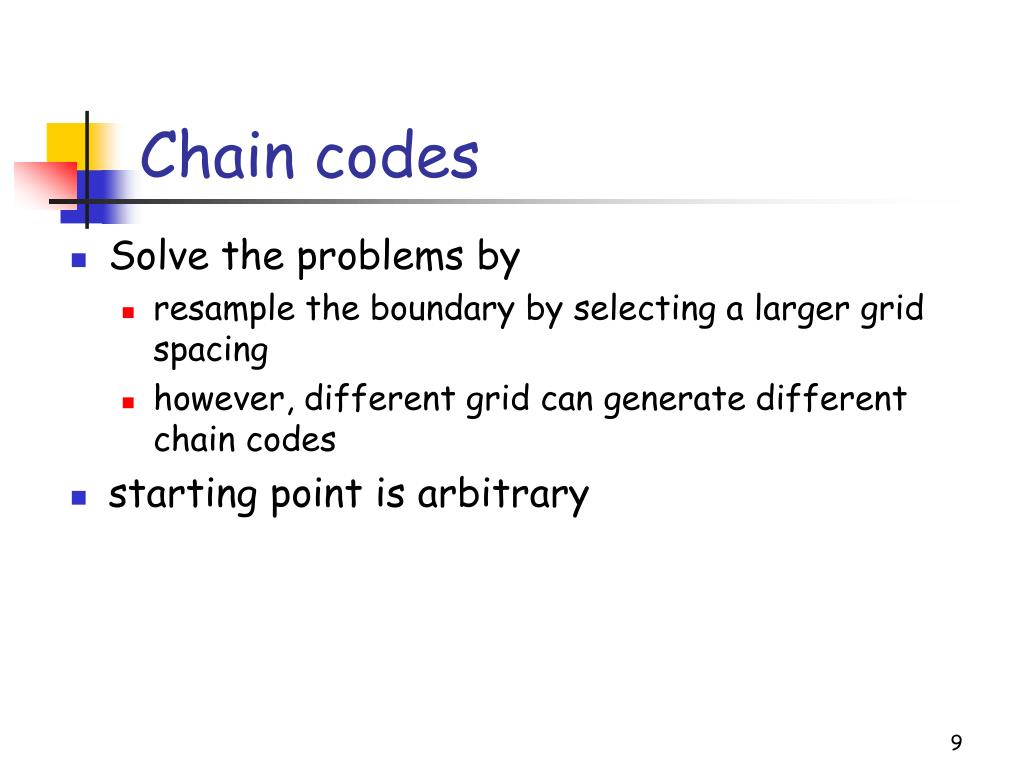 Chain codes