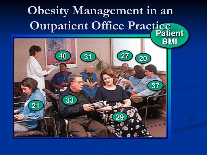 Obesity management in an outpatient office practice