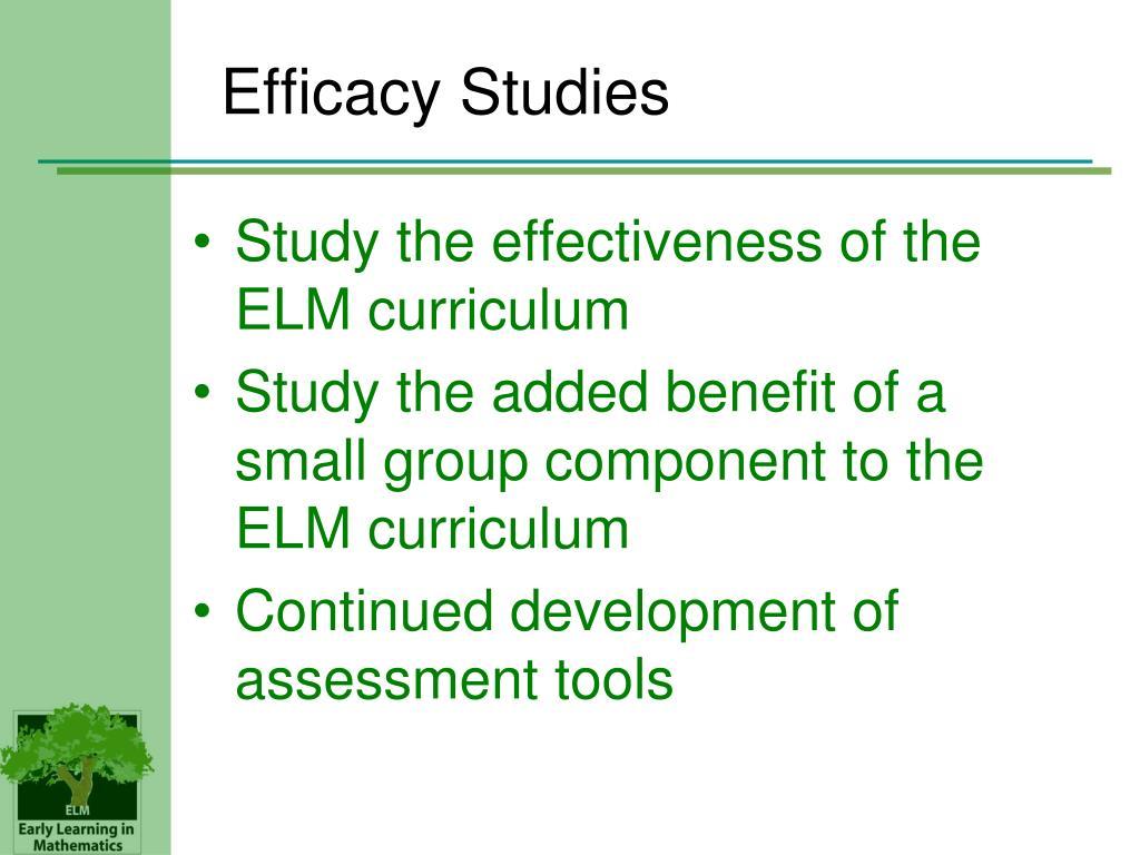 Efficacy Studies