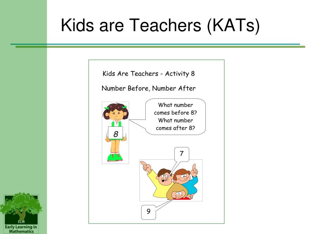 Kids are Teachers (KATs)