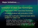 major initiatives18