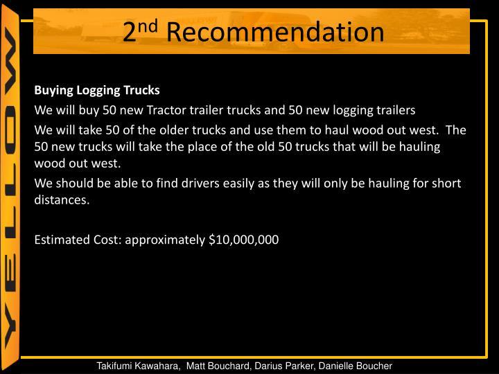 Buying Logging Trucks