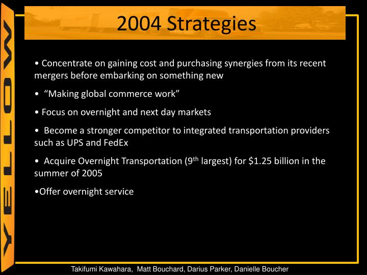 Concentrate on gaining cost and purchasing synergies from its recent mergers before embarking on something new