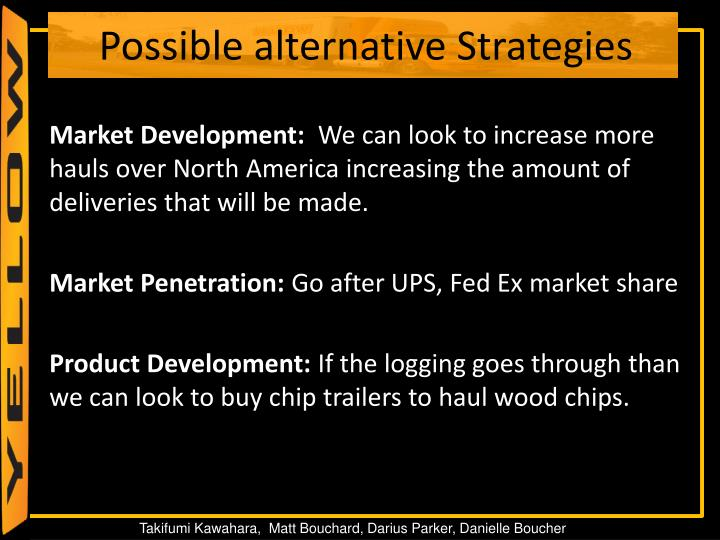 Market Development: