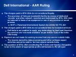 dell international aar ruling